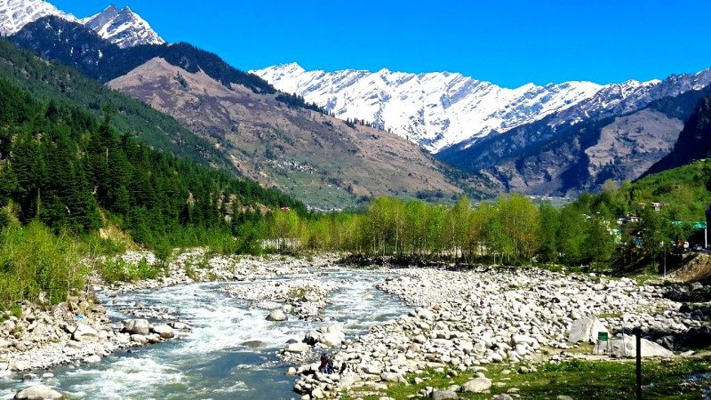 Beas River in Manali